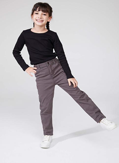 DeFacto Slim Fit Pantolon Gri